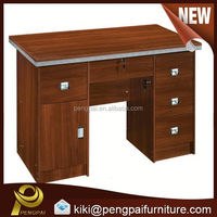 cheap 1.2m cherry wooden melamine office desk/table