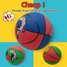 custom logo print pvc rubber machine-sewing basketball