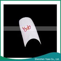 Wholesale! 500Pcs Lady White Acrylic Nails (Half Tips)