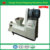 Hot sell agricultural waste 18.5kw boiler heating briquette making machine with ce approved