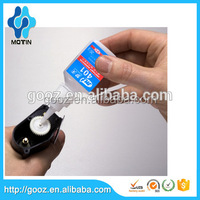 Rapid curing super strong glue Motin 401 adhesive for bonder shoes/mobile/rubber/plastic/paper 20g