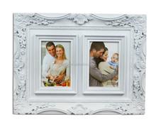 De duas fotos photo frame com duas fotos plástico barato picture frame foto