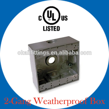 Aluminum Die Cast weatherproof box FSB type