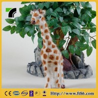 Souvenir gift items promotional birthday gifts furry giraffe model