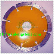 Hot products of Wanlong High performance yellow Dry Cutter Segmented Edge Cutting Saw Blade For Slab Edge Cutting