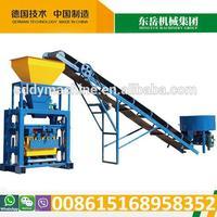 QT40-1 Vibrating type economic low cost brick making machine