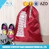 nylon drawstring bag/drawstring backpack,drawstring shoe bag with outside pocket