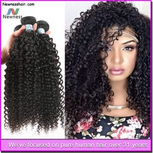 Tight And Neat unprocessed curly hair brazilian curly hair extension