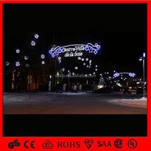 2015 led decoration lights across stree light all size star