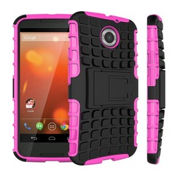 Rugged Stand Function Back Cover Phone Case for Motorola Moto X+1
