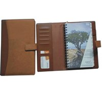 free samples leatherette cover book notebook