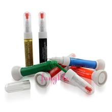 two way nail polish dotting liner pen
