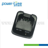 800mA Single Rapid Walkie-walkie Chargers BC-160 for BP-231,BP-232 Batteries.