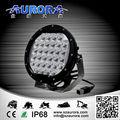 barato para venta de un producto de grado aurora 7 96w pulgadas ronda de luz led offroad luz de conducción