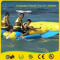 2 Years warranty inflatable water fly fish/ banana boat/fly fishing tube