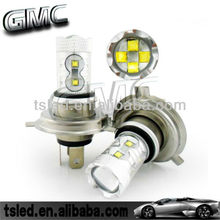 50W 60W 12V/24V LED H4 H7 Fog Light Bulb Automotive Headlights