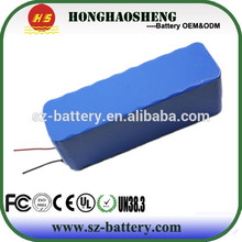 Light weight 12v 40ah li-ion battery pack 3s20p for Electric Devices,Golf cart