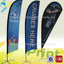 Digital Printing Ourdoor Advertising Beach/Feather Flags