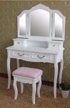 Elegant vanity set wooden dresser for sale