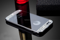 Mirror Metal Plated Diamond Soft Case Cover For iPhone 5/ 6/6S /6 Plus//6S Plus Samsung Galaxy S6/ S6 Edge