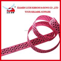 2015 dots printed on grosgrain ribbon craft ribbon spools