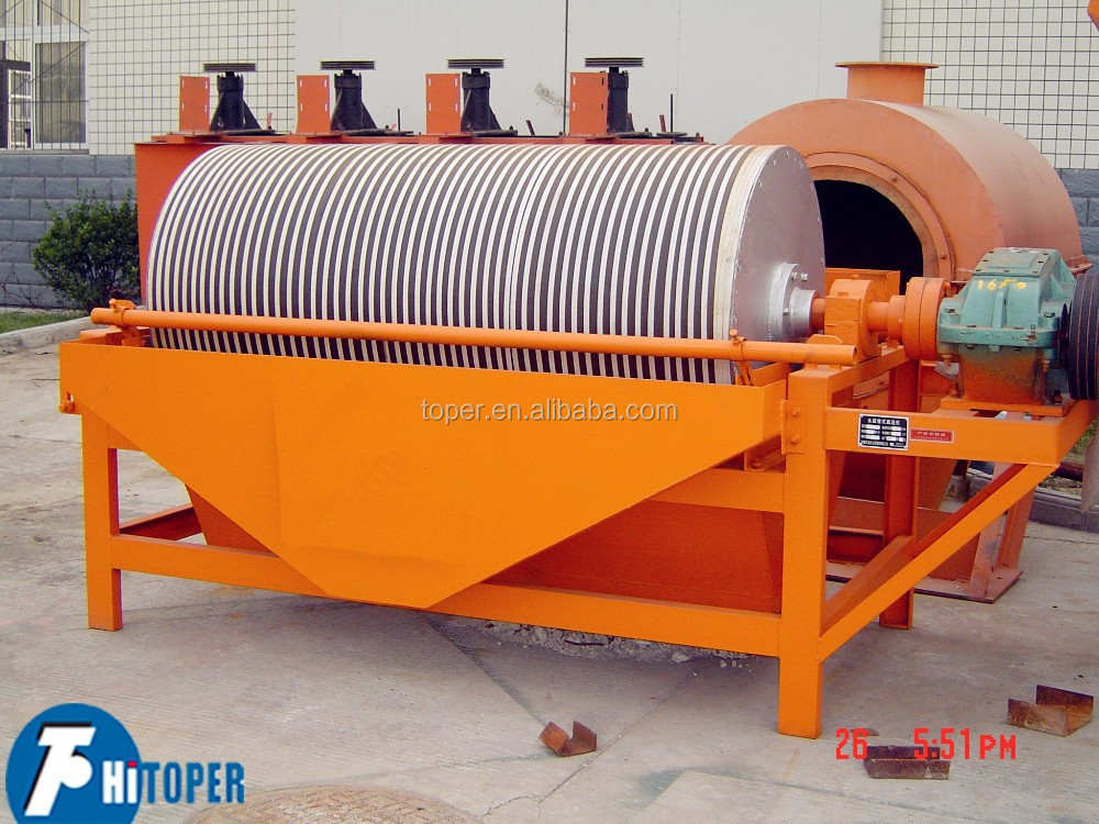 Sand And Slag Separator : High quality wet type magnetic separator