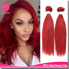 premium related products 3 bundles red brazilian hair weave