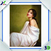 2015 Modern 3D Sex Women Picture lenticular design
