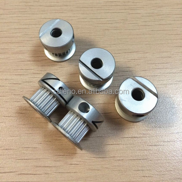 Miniature Timing Belts : One screw miniature gt m gear belt pulley buy