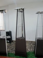 NEW Commercial free standing power coated propane patio heater