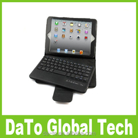 Leather Stand Case with Removed Bluetooth Keyboard For iPad Mini 3 2 1