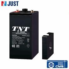 Hot sale 2v 300ah deep cycle sealed gel storage battery for ups