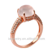 customized rose gold diamond rings