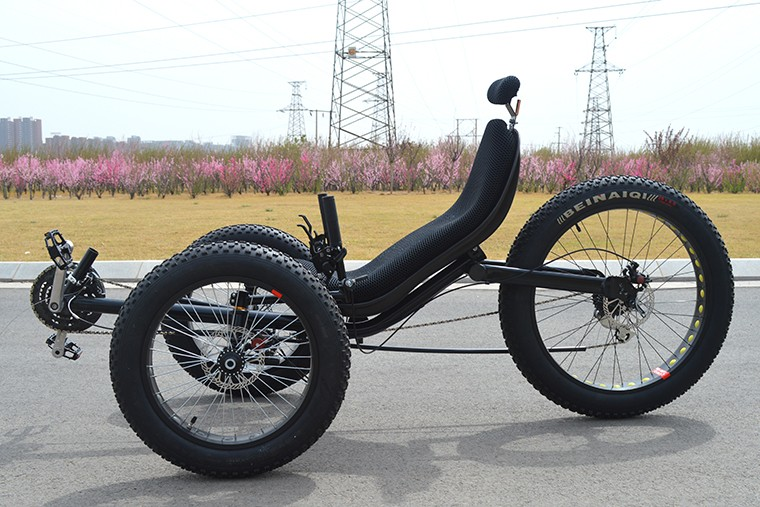 500 w lectrique fat tire tricycle couch adultes tricycle - Tricycle couche electrique ...