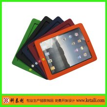 double color Silicone protector case for Ipad 2G