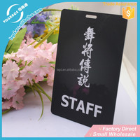 New Product print plstic blank card/pvc card made in china/american express black card