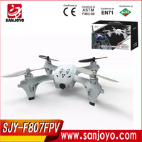 f807w rc uav quadcoper drone hubsan drone 2.4 gro system easy flying RC Drone long distance control hd camera with light