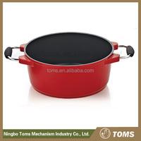 China wholesaleNon-stick coating casserole/ Induction bottom milk pot