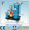Portable oil purify machine to remove the harmful materials, solid particulate and water from oils