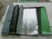 cold applied flat roofing waterproof membrane with cross-linked film