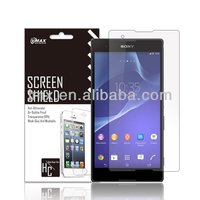 Mobile phone accessory Manufacturers Free Sample!! For ultra clear screen protector Sony Xperia Z2 oem/odm (High Clear)