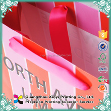 Alibaba custom reusable thin paper bags packaging