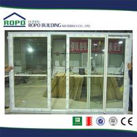 White frame UPVC standard sliding glass door size
