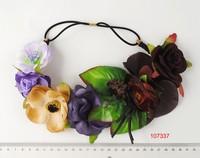 2015 new customized charming flower headband