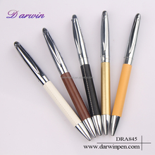 Beautiful design Darwin hot selling metal leather marking pen