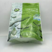Biodegradable food grade stand up zip lock bag with window