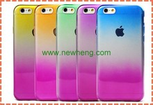 Ultra Thin TPU Soft Gradual Color Changed Contrast Color Color Changing Phone Case For iPhone 6 / 6 Plus