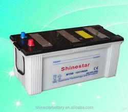 truck battery 24V Heavy Duty Truck Batteries 145G51 12V150AH used car batteries for sale
