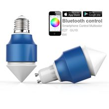 new products for the home 13w low cost e27 rgb led bulb lighting play by SmartPhone