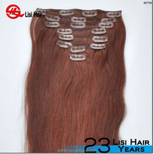 Direct Factory Top Quality 5A mix color burgundy highlights on dark brown hair